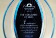Dynasty Enterprise Award w Blue Tinted Center Piece DT-DT3612