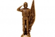 Airforce Soldier Antique Bronze Figurine - 5 x 11 #BC-DC1556