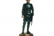 Civil War Officer Dark Copper Figurine - 4.5 x 12.5 #BC-CB2092