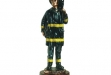 Fireman Dark Copper Figurine - 4.5 x 12 #BC-DE2089