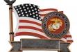 Marines Sports Plate #FM-RF2715