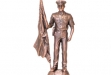 Police Antique Bronze Figurine - 6 x 12 #BC-DC1583