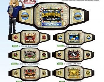 Custom Award Belt