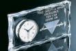 Acrylic Block Clock #AA-A-882C