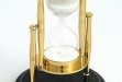 Brass & Green Marble 30 Minutes Sand Timer