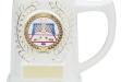 Ceramic White Mug #DT-H144W
