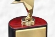 Star Award on Rosewood Round Base #DT-RWS52