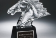 Fury Horse Head Award on Black Base #DT-CRY300