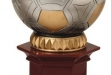 Jumbo Resin Soccer On Pedestal Base #DT-RF855