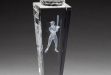 Crystal Baseball Trophy #DT-CRY210