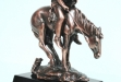 End of the Trail Antique Bronze Figurine - 8W x 13H #BC-DC1458