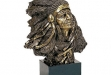 Indian Chief Copper Bust - 9W x 12H #BC-C437