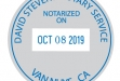 #SC-50 Self-inking Date Stamp (2 Diameter)