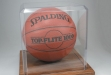 Basketball Holder with Oak Base #JD-KH5