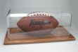 Football Holder with Oak Base #JD-FH5