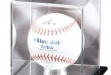 Mirrored Softball Display Case#DT-DCM-SFTBL