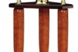 6009B Baseball Bat Column Series Trophy, 3 Post 31