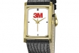 Men's:Ladies' 18K leather band #DM-WA181
